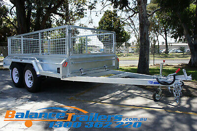 10x5 Hot Dip Galvanised Full Welded Heavy Duty Tandem Trailer ATM 3200KG