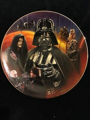 "Star Wars ""darth Vader"" Collector's Plate"