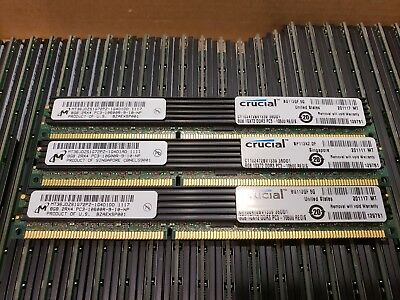 Lot of 12 MT36JDZS1G72PZ-1G4D1AD 8GB 2Rx4 PC3-10600R-9-10-NP - Server RAM