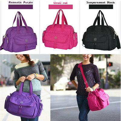 Waterproof 3PCS Baby Changing Diaper Nappy Mummy Shoulder Bag Handbag Large