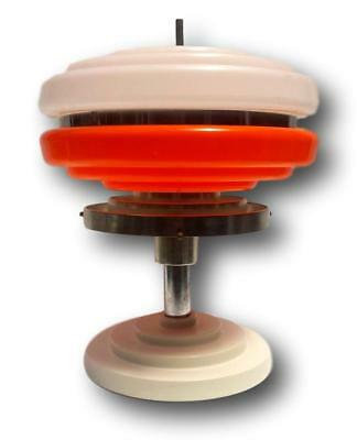 Table lamp flying saucer plexiglass 70's table lamp space age vintage