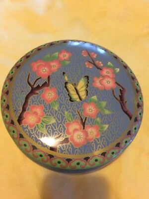 Decorative Tin Container Daher