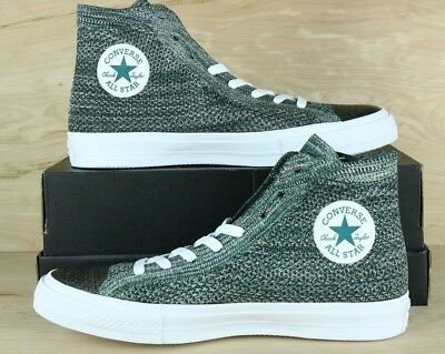 quality design 10763 862f8 Converse 157509C Chuck Taylor All Star HI Flyknit Men Shoe Teal White Multi  Size