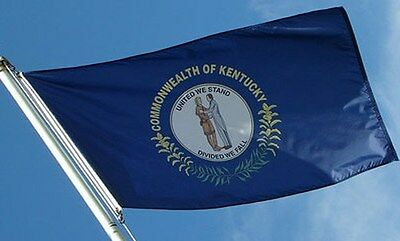 NEW 3x5 ft KENTUCKY STATE OF FLAG better quality usa seller