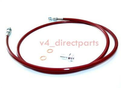 RED STAINLESS STEEL CLUTCH LINE Fits for 1992-00 CIVIC// 1994-01 INTEGRA