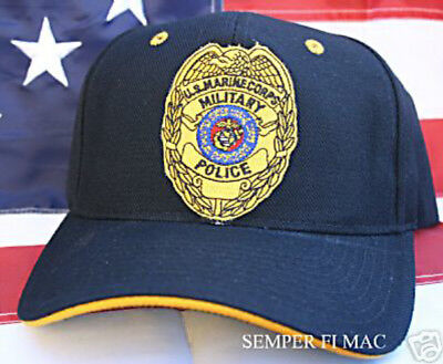 Military Police Mp Hat Us Marine Corps Police Cap Wowmh Badge Mcb Mcas Gift Wow