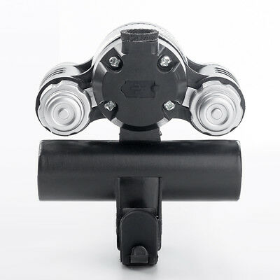 For Bicycle Head Light Front Handlebar Lamp Flashlight T6 LED Waterproof