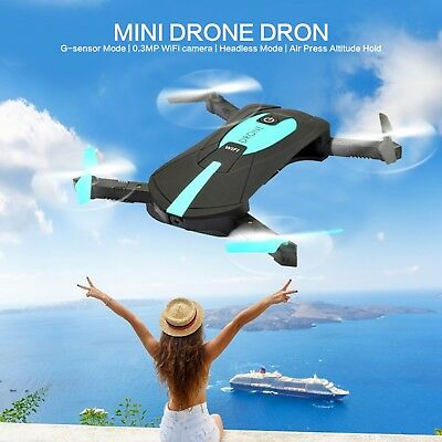H37 JY018 ELFIE WiFi FPV Quadcopter 2MP 720P pixels Mini Dron Foldable Selfie