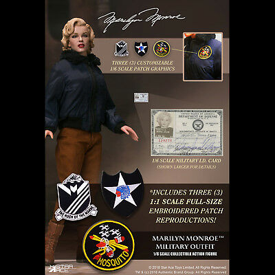 Star Ace Toys SA0055 1/6 Marilyn Monroe Military Outfit Female Collectible Model