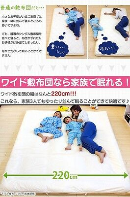 NEW Japanese Traditional Futon Big Mattress made in JAPAN from JAPAN F/S