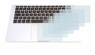 """Apple MacBook Pro 13.3"""" Touchpad, 6 x Transparent ULTRA Clear Screen Protector"""