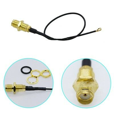 2 x IPEX/MHF4 to RP-SMA Antenna Pigtail NGFF/M.2 WIFI/WLAN/3G/4G Modules