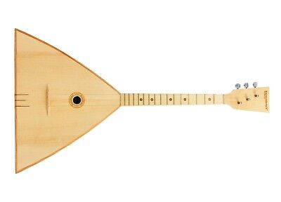 Balalaika compact three-string, Festival.  Russia. Balalaiker. The best choice