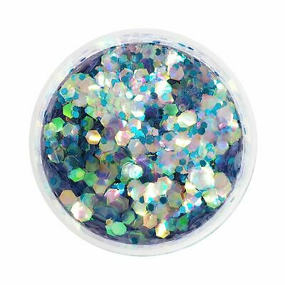 MOONCHILD GLITTER Hair Glitter for Body Blue Glitter Cosmetic Glitter Pot Vegan