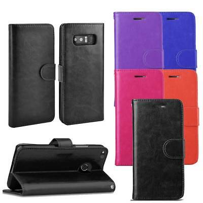 For Samsung Galaxy NOTE 4 Phone Case Flip PU Leather Cover Book Stand Wallet