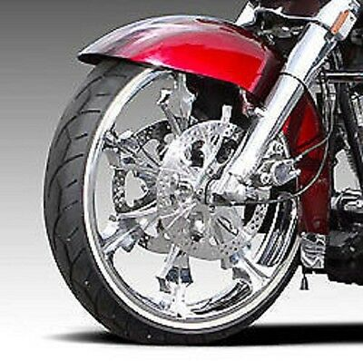 """Vee Rubber 21"""" White Wall Front Tire 120/70-21 Harley Road King Street Glide"""