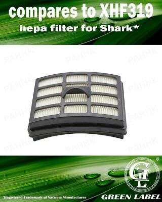 XHF319 HEPA Filter for Shark Vacuum Cleaners. By Green Label