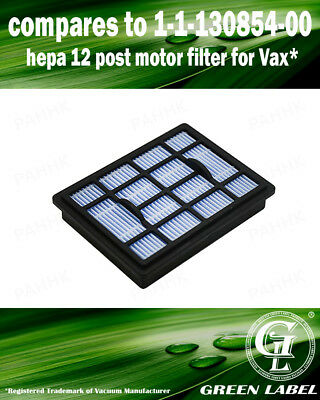 Filter for Vax Power 6 Vacuum Cleaners (compares to 1113085400). By Green Label