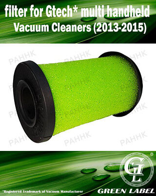 Foam Filter for Gtech Multi Handheld (2013-2015), (OEM# ATF001). Be Green Label