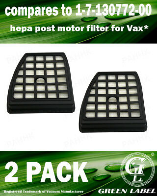 2 Pack Filter for Vax Power 7 Vacuum Cleaners (OEM# 1713077200). By Green Label
