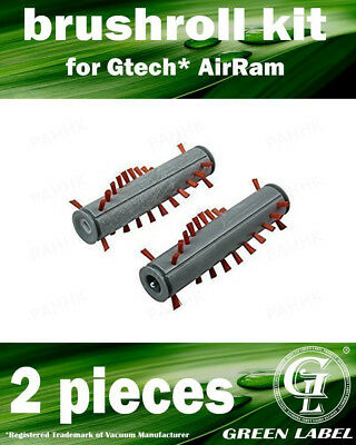 Brush Bar Brushroll Kit for Gtech AirRam AR01, AR02, DM001, K9. By Green Label