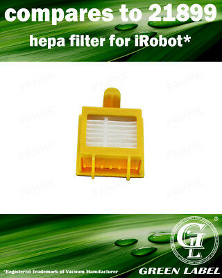 Hepa Filter for All 700 Series iRobot Roomba (OEM# 21899). By Green Label