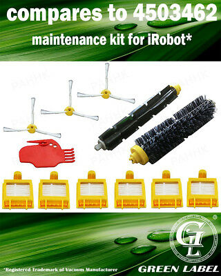 Spare Parts Kit for iRobot Roomba 700 Series (OEM# 4503462). By Green Label