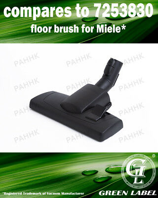Miele S1/S2/S4/S5/S6/S8 35mm Brush OEM# AllTeQ SBD 285-3/7253830 By Green Label