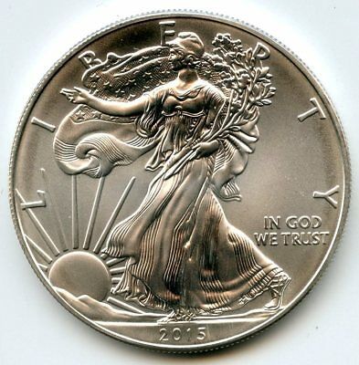 2015 American Eagle Fine Silver Dollar - 1 oz bullion Coin - United States AN753