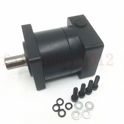 10:1 Planetary Gearbox Speed Reducer NEMA23 Input 8mm for Stepper Motor CNC Part