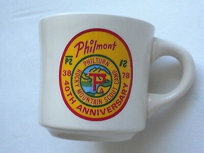 Philmont Scout Ranch   Boy Scouts of America     Coffee Mug     40th Anniversary