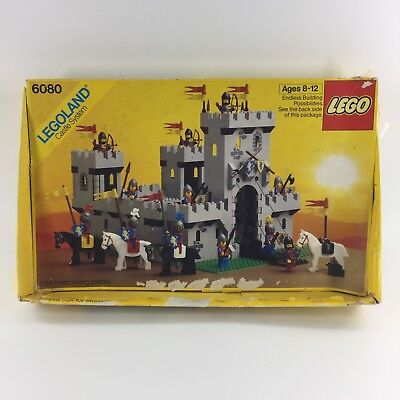 Lego Castle Lion Knights Set 6080 1 Kings Castle System Box Only