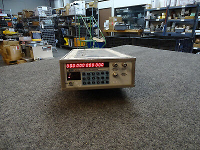 EIP 28B 12 Digit Microwave Frequency Counter 10hz to 26.5Ghz Opt 05 & 08
