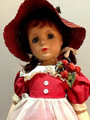 MARGARET O'BRIEN By Madame Alexander, Beautiful Composition Doll, All Original