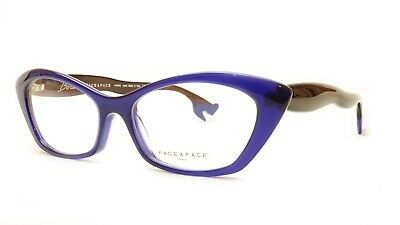 2d2e5ac093 Authentic Face A Face Bocca Rock 2 Col. 635 Violet Brown Eyeglasses Italy  Made