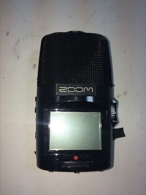 Used Zoom H2n Handy Recorder (H2N 24-Bit SD Recorder) No battery Cover