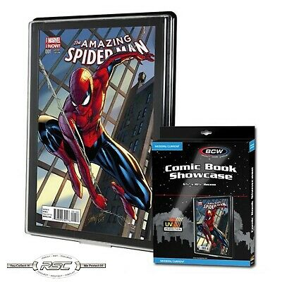 BCW CURRENT / MODERN COMIC BOOK SHOWCASE with UV Protection - Protect & Display!