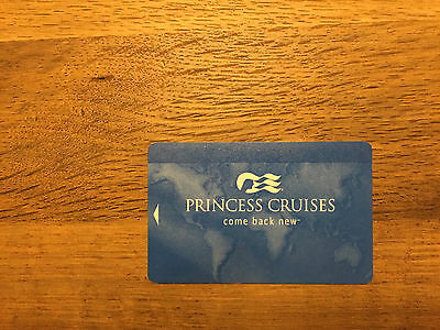 Princess Cruise Line Sea Pass Card - Blank Will Ship To Canada