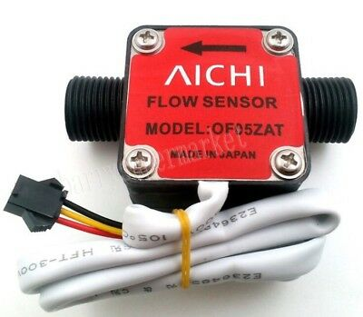 "AICHI OF05ZAT G1/2"" Oil Fuel Gas Diesel Milk Water Liquid Flow Sensor 1-10L/M"