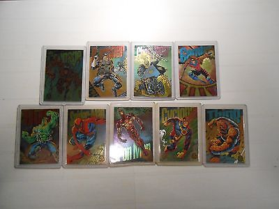 1994 Marvel Universe: All 9 Limited Edition Power Blast Chase Cards!!! LOOK!!!