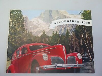 Original 1939 Studebaker Champion Dealer's Brochure