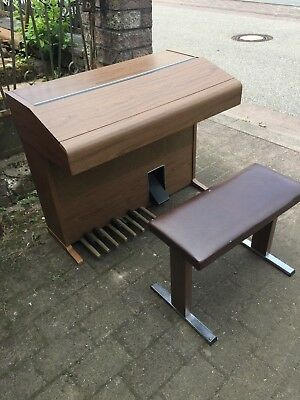 Philips Philicorda Auto - Matic Orgel mit Hocker