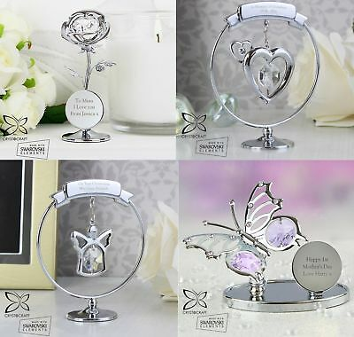 Personalised Crystocraft Swarovski Crystal Gifts Present For Her Women Keepsakes