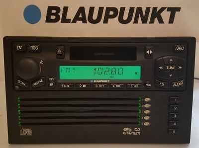 Blaupunkt Player A, 5 CD Changer IDC A09 Front Kombi Doppel DIN Autoradio, Rar!