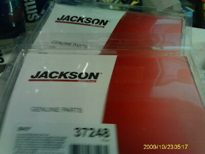 2 - NEW JACKSON BH3 37248 INTERNAL WELDING CLEAR SAFETY PLATE  (10) each
