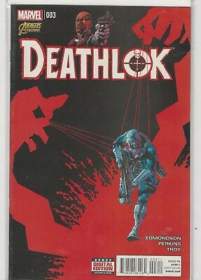 Deathlok #3 (Feb 2015, Marvel) VF/NM