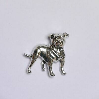 Staff Bull Terrier Pin de Solapa Broche Ideas Regalo Perro Pins