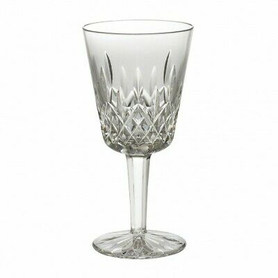 "WATERFORD CRYSTAL LISMORE WATER / GOBLET GLASS 7"" - Mint"
