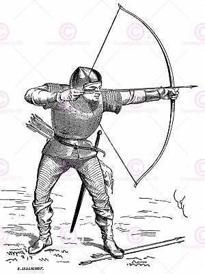 Painting Drawing Military Viollet-le-duc Medieval Knight Canvas Art Print