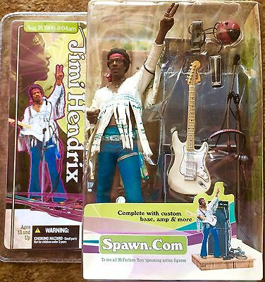 Jimi  Hendrix - Woodstock Action Figure 2003 McFarlane Toys NEW L@@K
